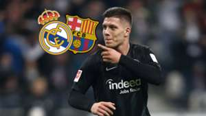 Luka Jovic Real Madrid Barcelona