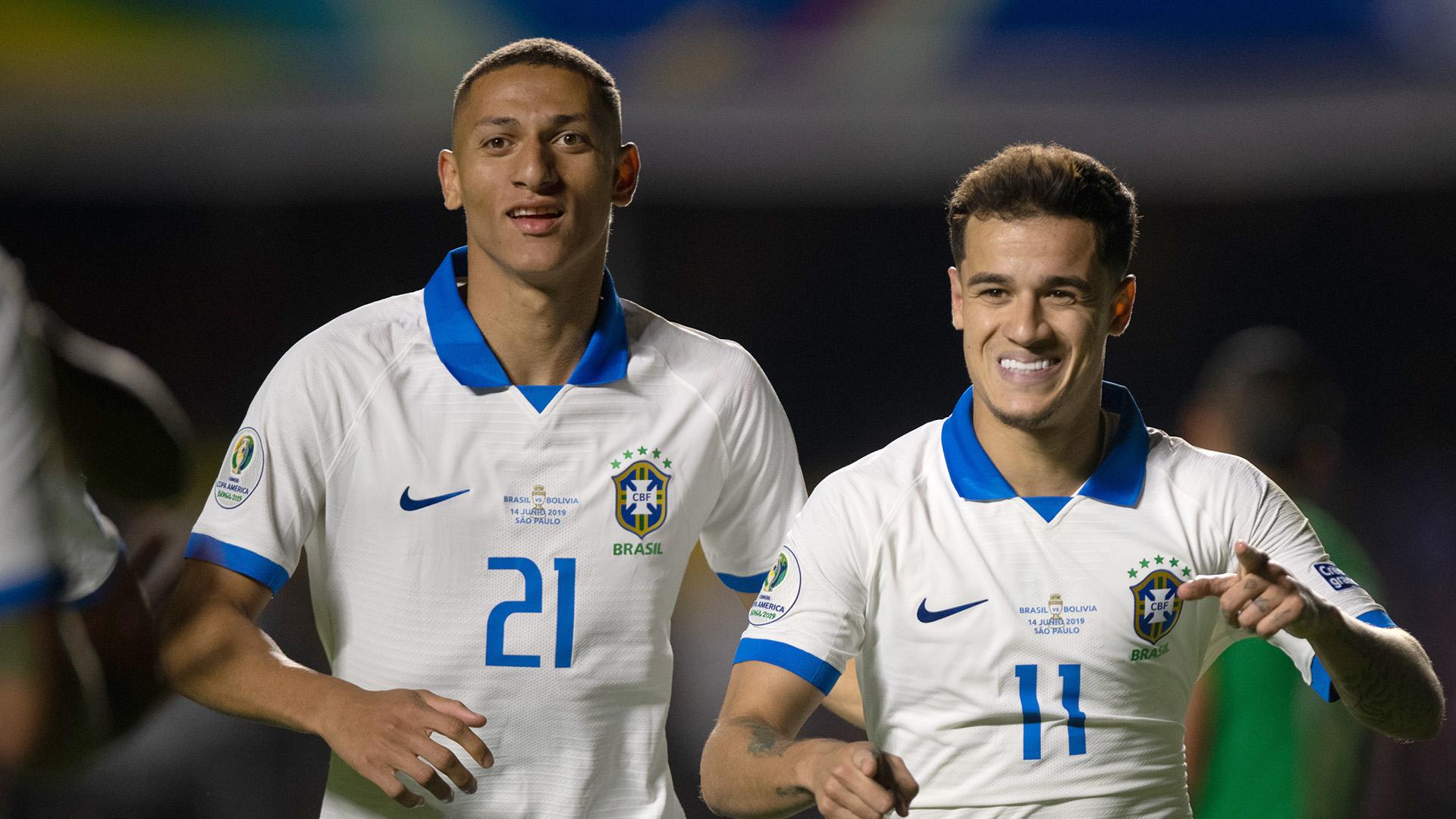 Richarlison Coutinho Brasil Bolívia Copa América 14062019