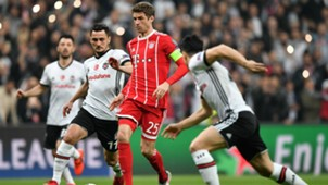 Thomas Müller FC Bayern Besiktas Champions League 14032018