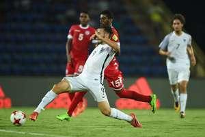 France U17 vs New Caledonia