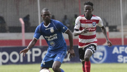 Dennis Sikhayi of AFC Leopards