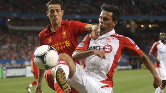 Krisztian Adorjan Liverpool Sergio Camargo Toronto FC