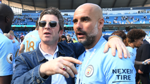 Noel Gallagher Pep Guardiola 2018