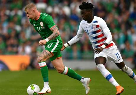 Ireland finds late winner to topple young USMNT