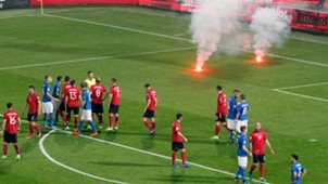 Italy Albania fans