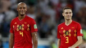 Thomas Vermaelen Vincent Kompany Belgium WC 2018