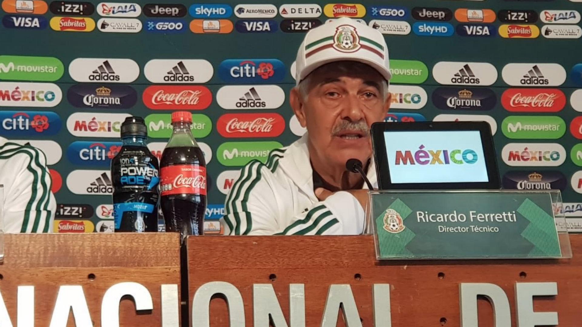Ricardo Ferretti Selección mexicana 031918