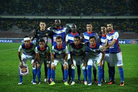Kelantan's first eleven against Perak 1/3/2017