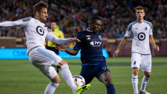 Jerome Thiesson Jimmy Medranda Sporting Kansas City Minnesota United MLS