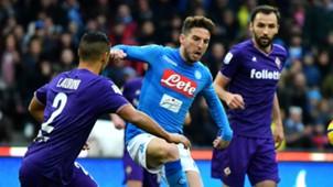 Mertens Napoli Fiorentina Serie A