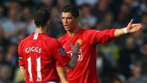 Ryan Giggs Cristiano Ronaldo Manchester United