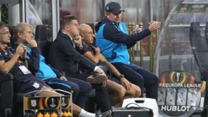 milan rijeka - matjaz kek vjekoslav miletic ivan mance - europa league - 28092017