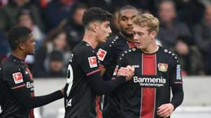 Julian Brandt Kai Havertz Johathan Tah Bayer Leverkusen 2019