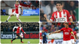 Matthijs de Ligt, Hirving Lozano, Nicolai Jorgensen, Guus Til GFX