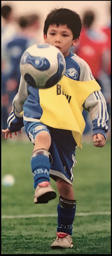 A young Ben Davis