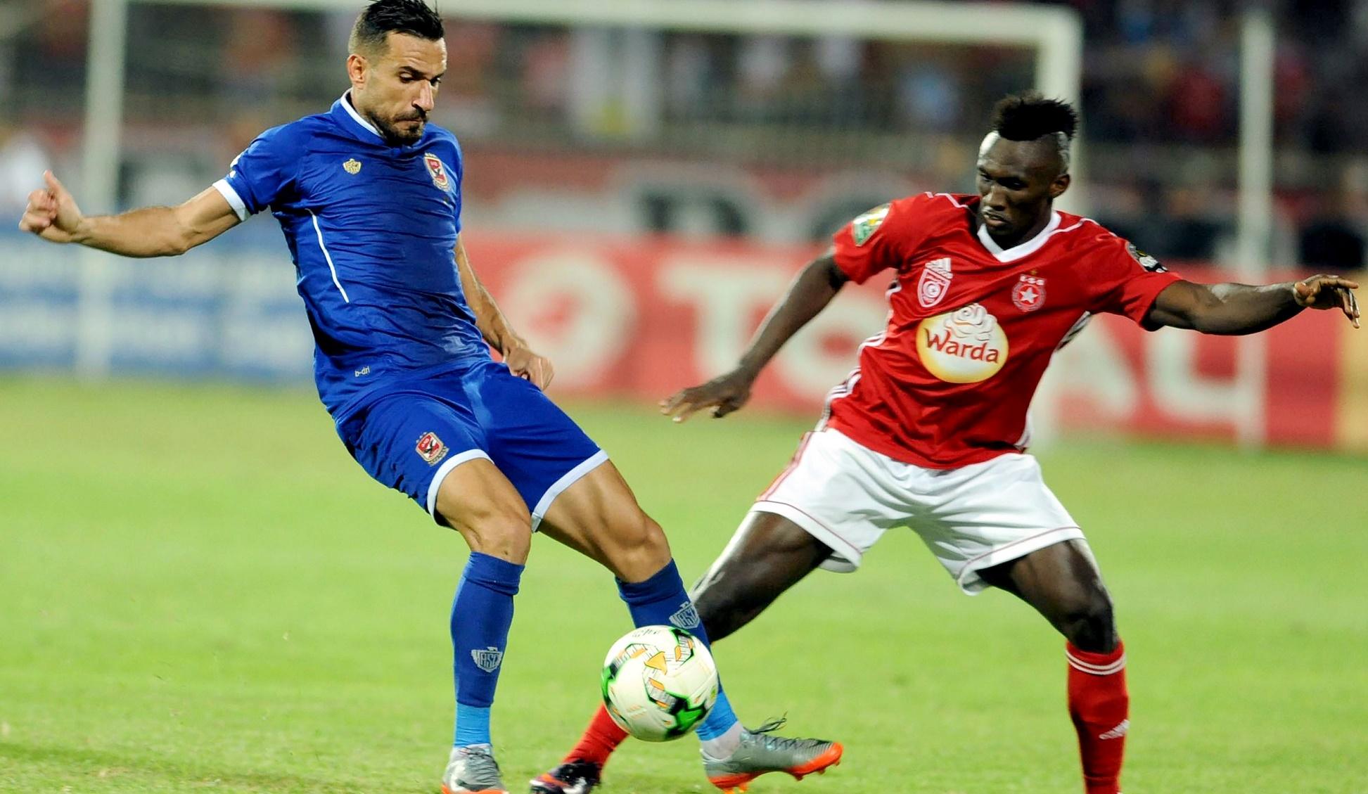 Ali Maaloul Alkhaly Bangoura Al Ahly Etoile Sahel CAF Champions League 01102017
