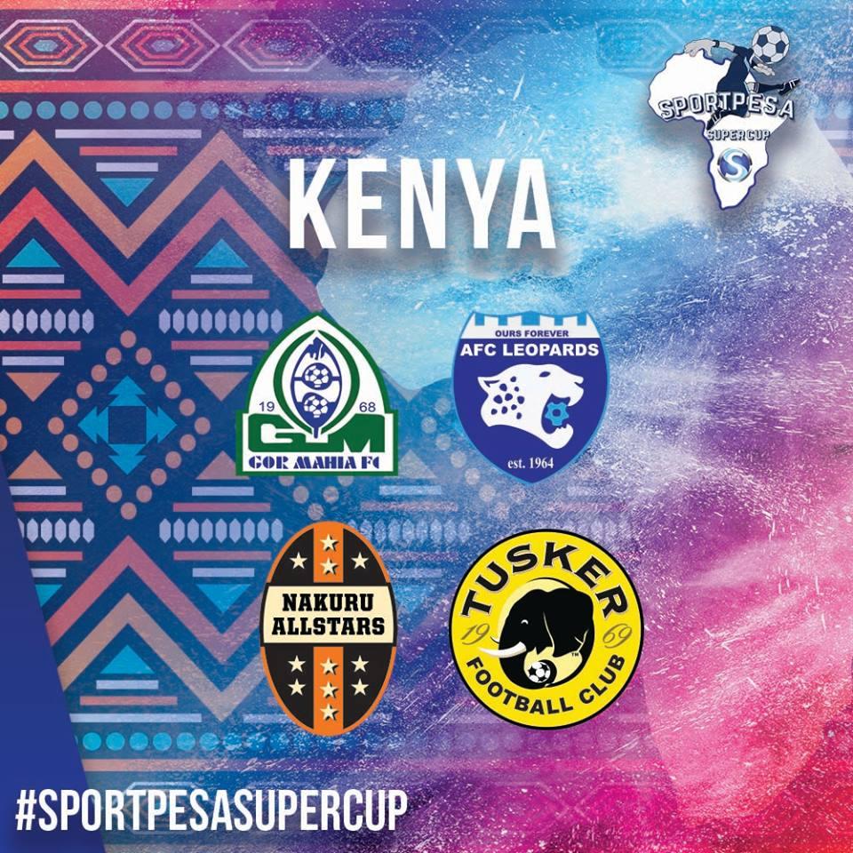 Kenyan reps in Super Cup