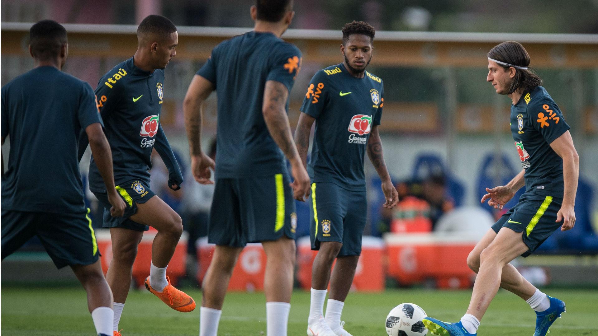 Treino Seleção Brasileira Granja Comary 25 05 2018