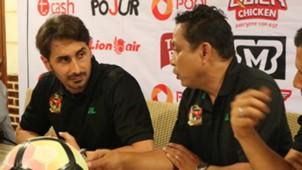 Ramon Marcote & Haris Che Mad - Kedah FA