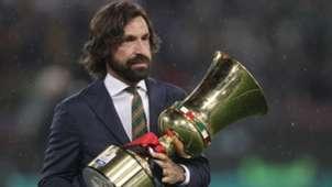 Andrea Pirlo Coppa Italia trophy
