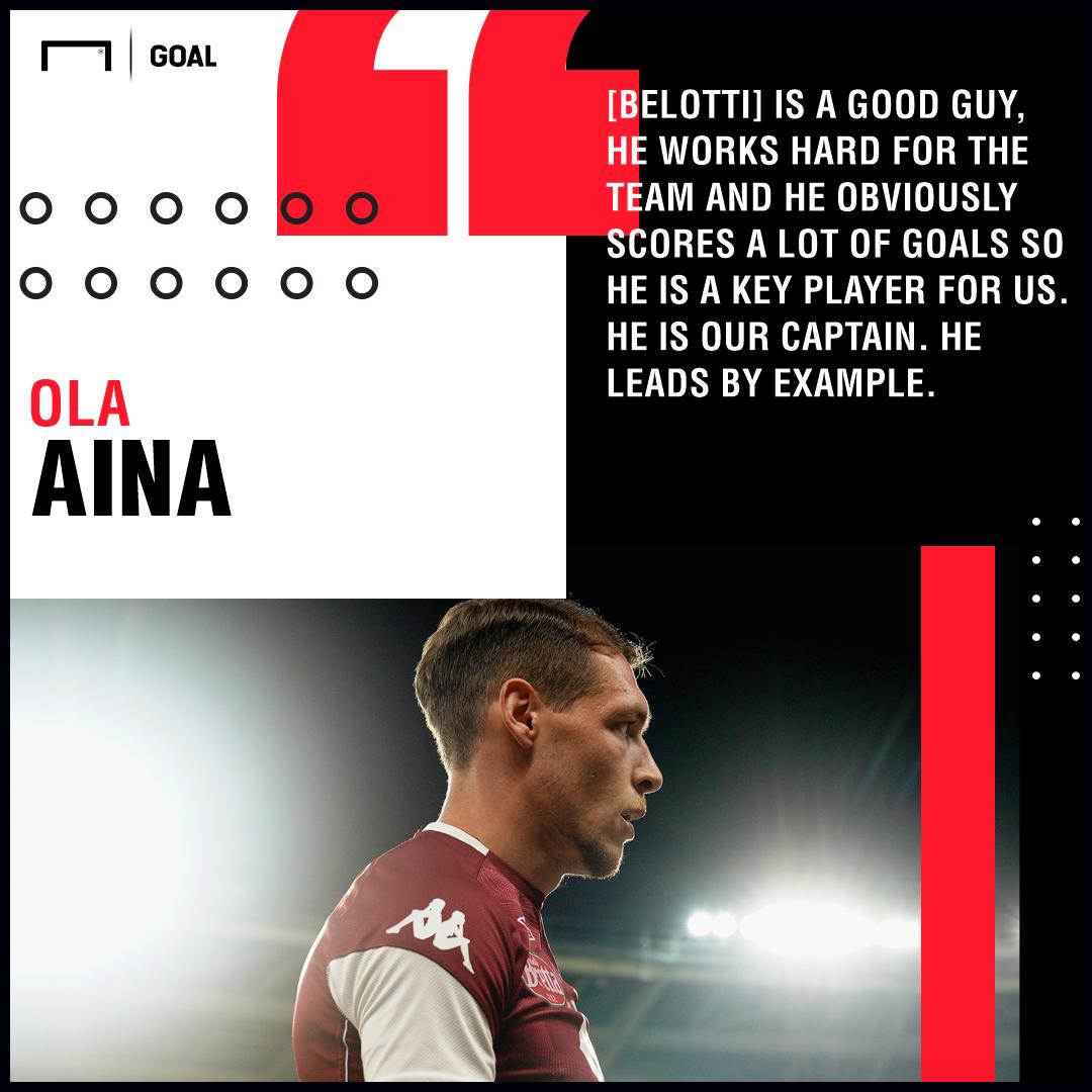 Ola Aina Quote