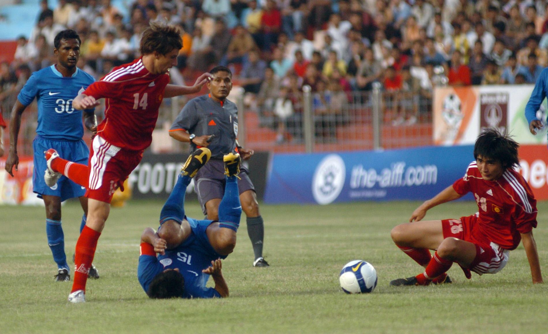 India Kyrgyzstan Nehru Cup 2009