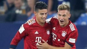 James Rodriguez Joshua Kimmich Schalke Bayern
