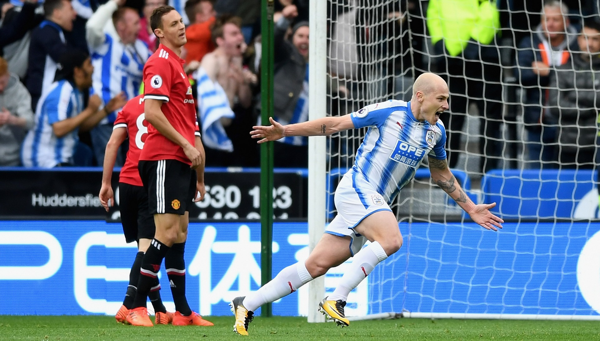 Aaron Mooy Huddersfield Manchester United EPL 10212017