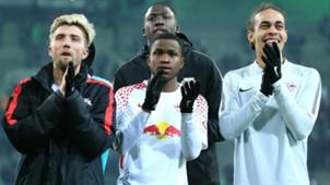 Kevin Kampl Ademola Lookman Yussuf Poulsen RB Leipzig