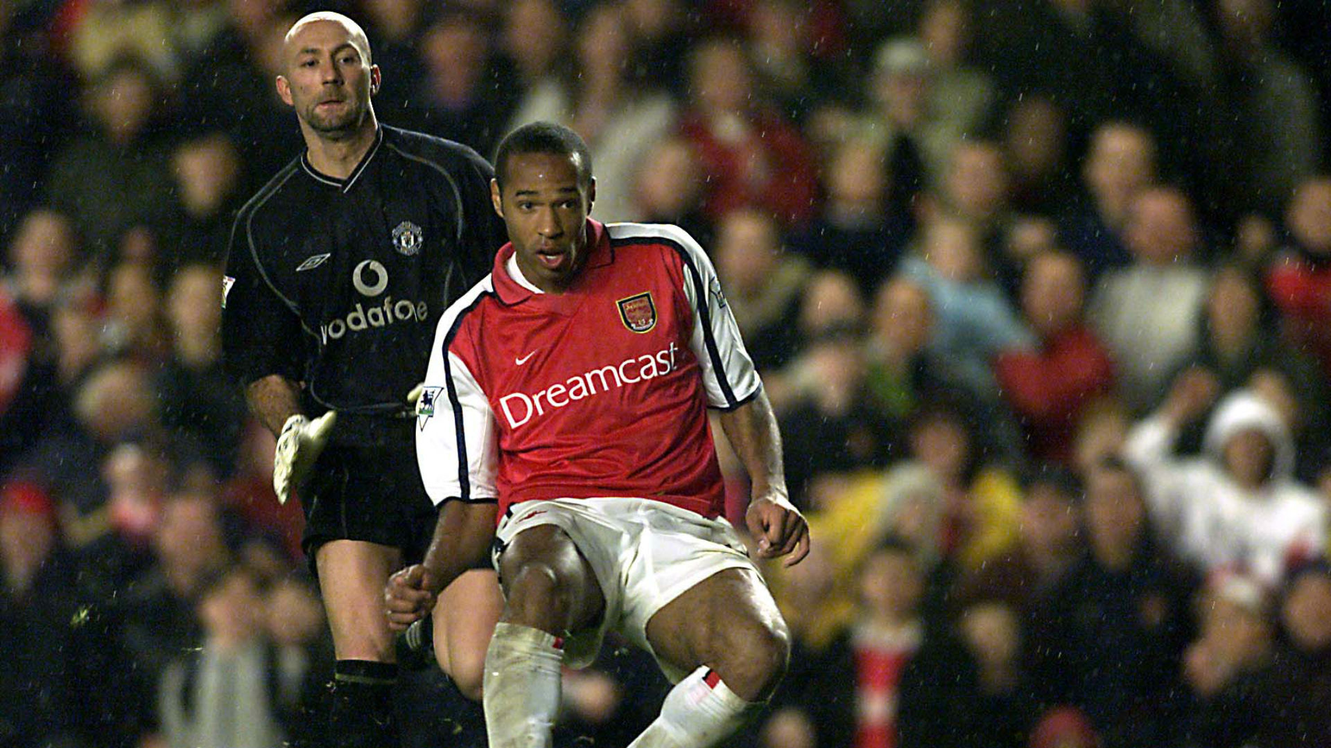 Thierry Henry Arsenal Manchester United