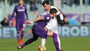 Suso Fiorentina Milan Serie A