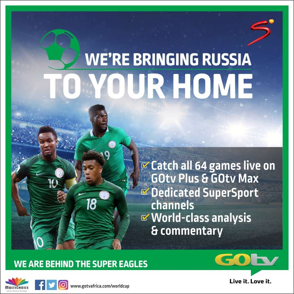 10 reasons to watch the 2018 FIFA World Cup on DStv, GOtv
