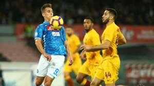Arkadiusz Milik Napoli Roma Serie A