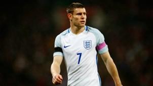 England's Euro 2016 squad | James Milner