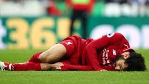Mohamed Salah injured Liverpool Newcastle