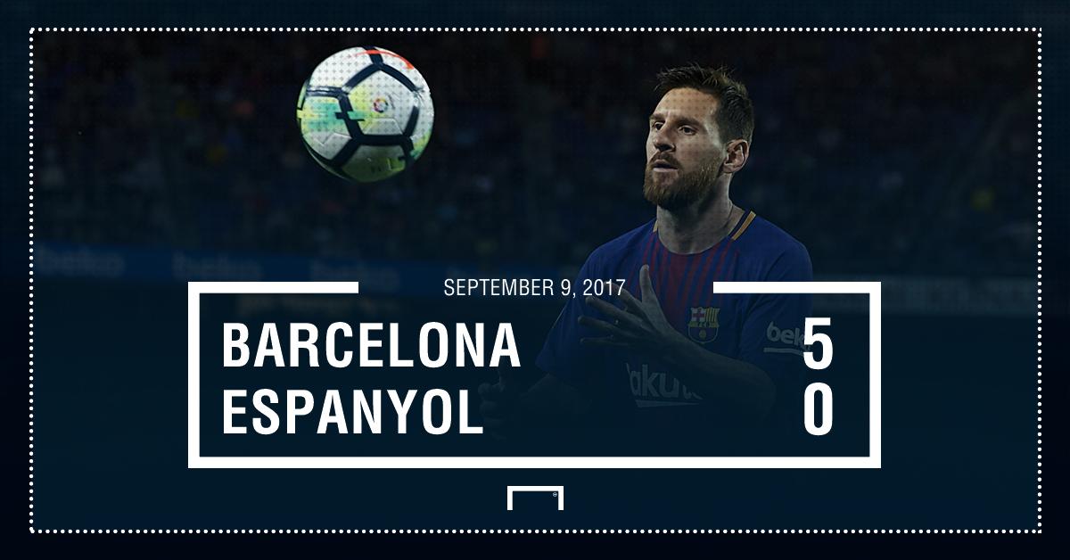 Barca Espanyol graphic