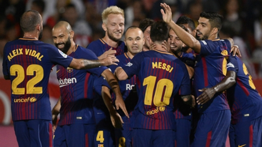 Gérone - Barça (0-3), le Barça reste dans le rythme, Suarez marque