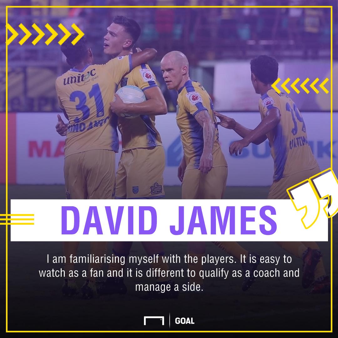 GFX David James Kerala Blasters ISL 4