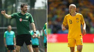 Mark van Bommel/ Aaron Mooy Australia