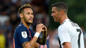 GFX Neymar PSG Ronaldo Juventus 2018