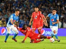 Millonarios vs América de Cali Liga Águila 2017-II
