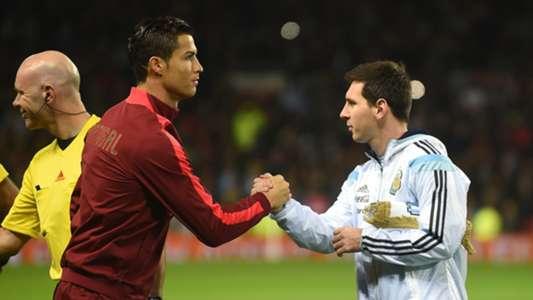 Cristiano Ronaldo Lionel Messi Portugal Argentina 2014