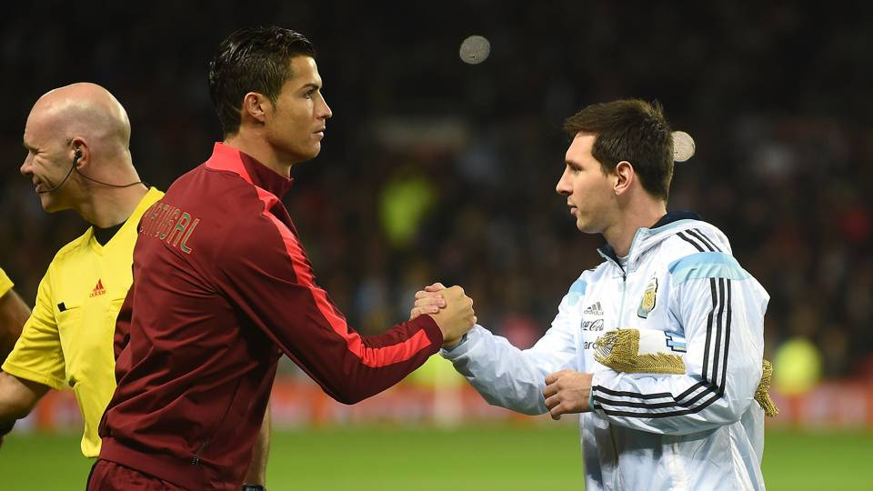 Cristiano Ronaldo vs Lionel Messi at the World Cup & could they play each other at Russia 2018?