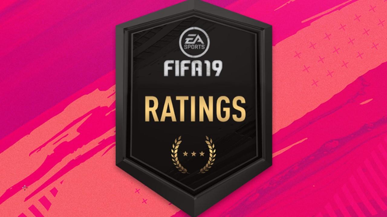 FIFA 19 player ratings