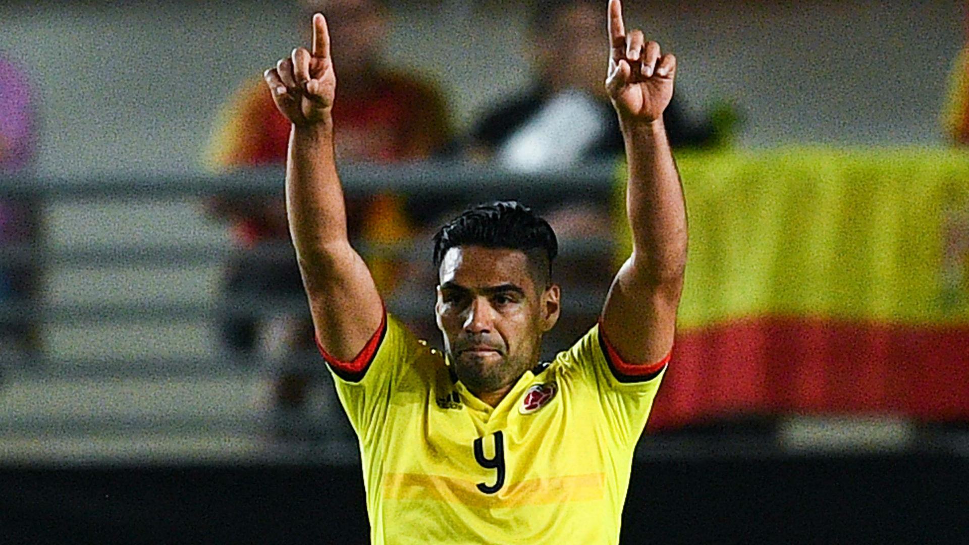 Falcao Selección Colombia gol vs España