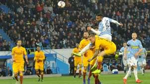 Mohamed Fares Rick Karsdorp SPAL Roma Serie A