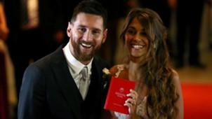 Meriahnya Pesta Pernikahan Lionel Messi