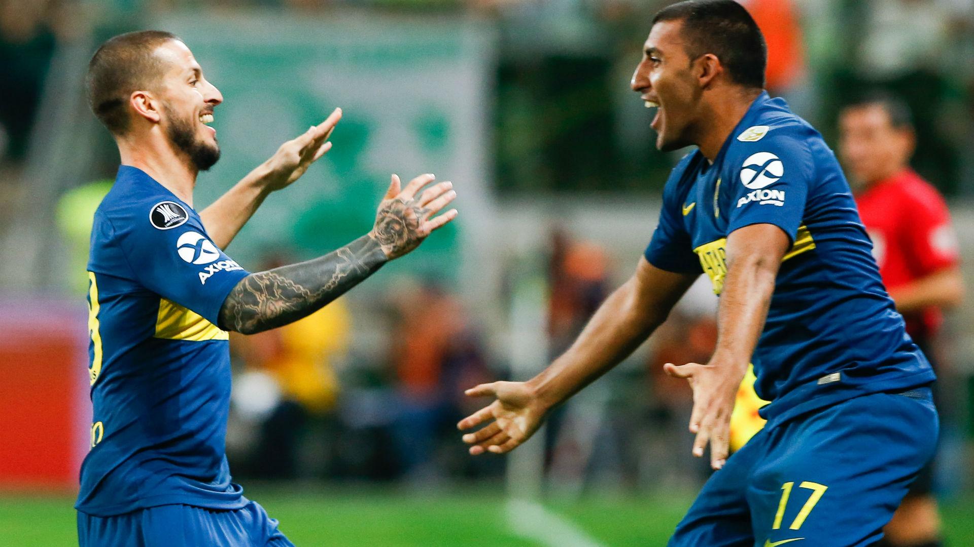 Benedetto Wanchope Abila Palmeiras Boca Copa Libertadores 31102018