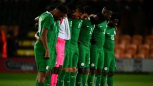Nigeria line up