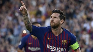 Lionel Messi Barcelona PSV Champions League 180918